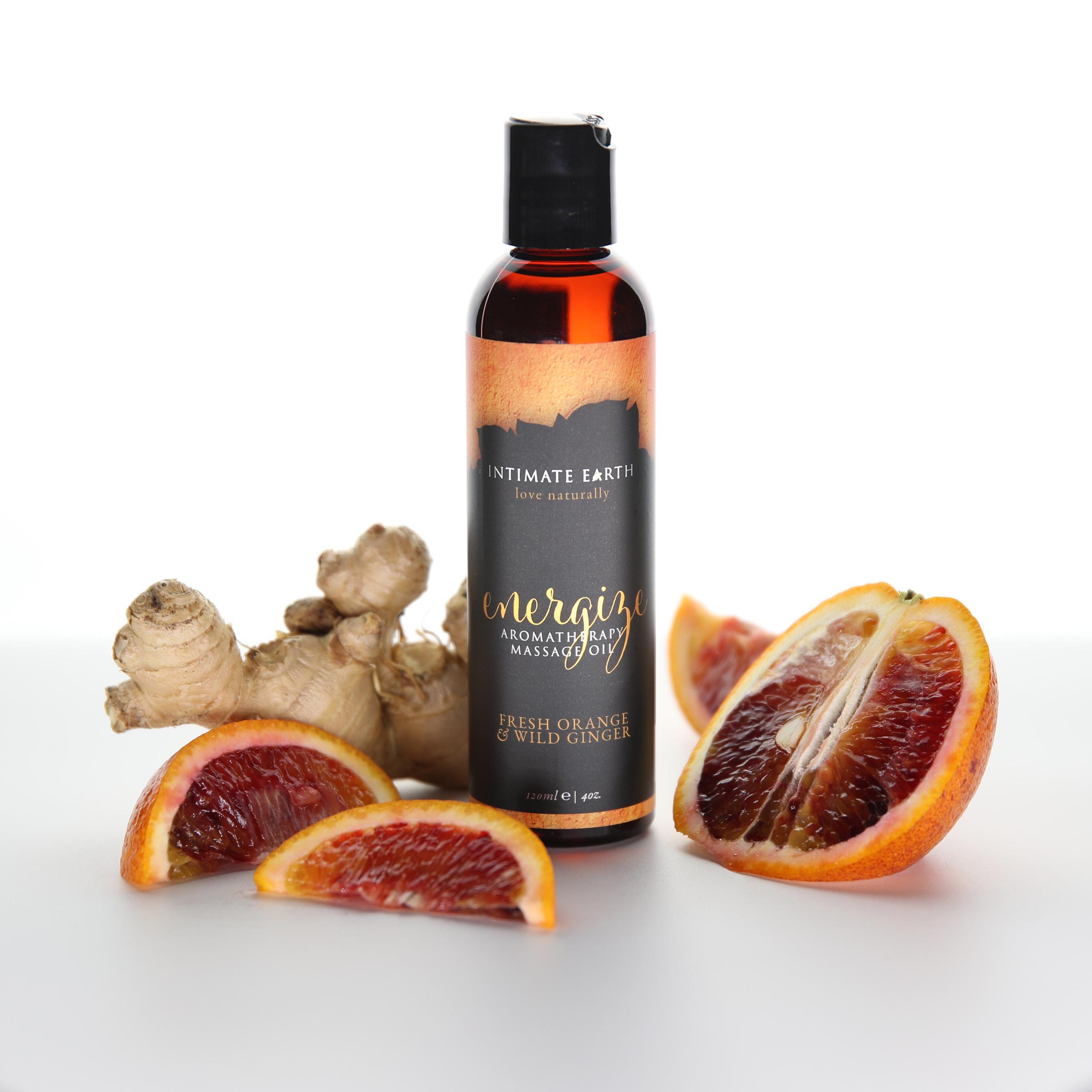 Energize Fresh Orange and Wild Ginger