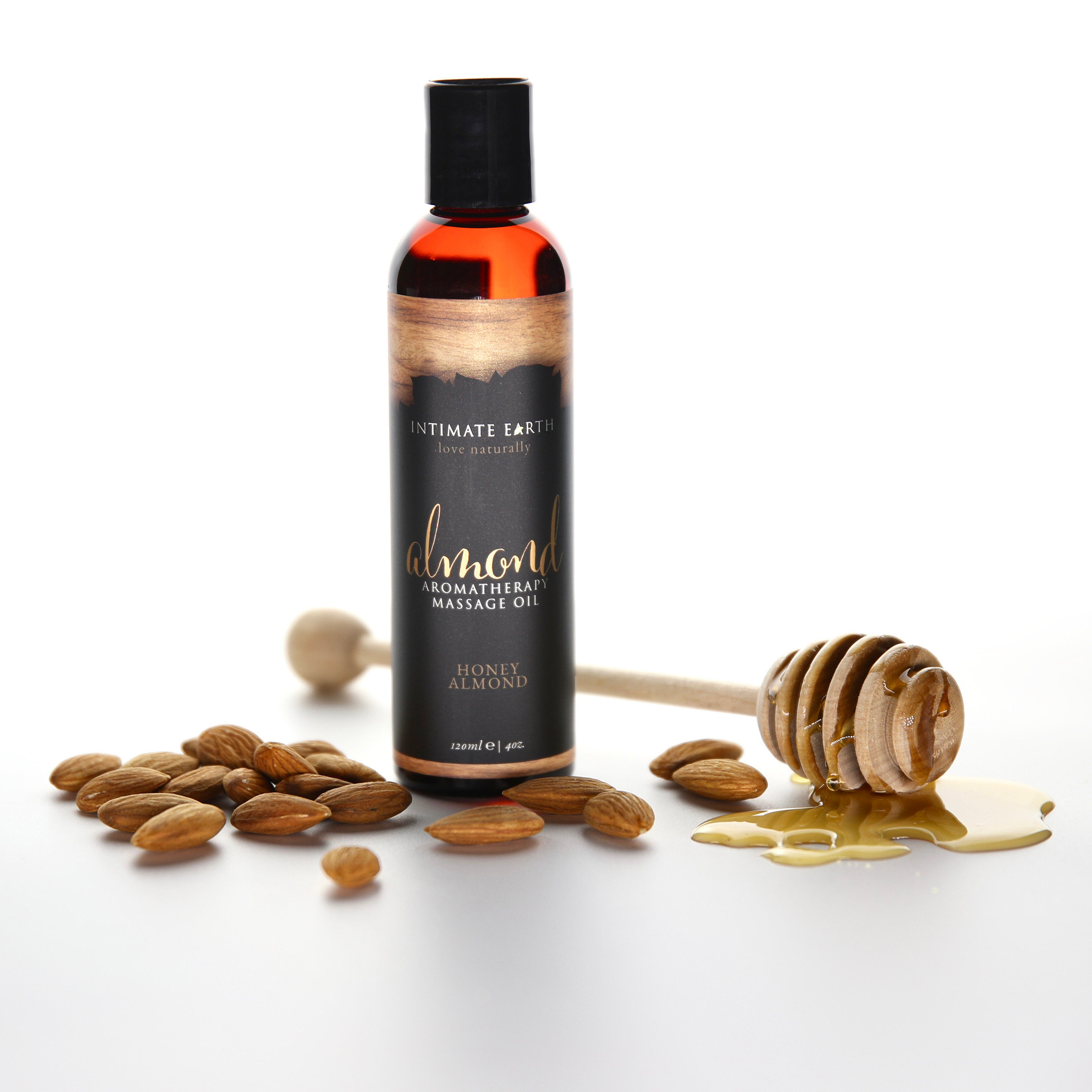 Honey Almond Aromatherapy Massage Oil