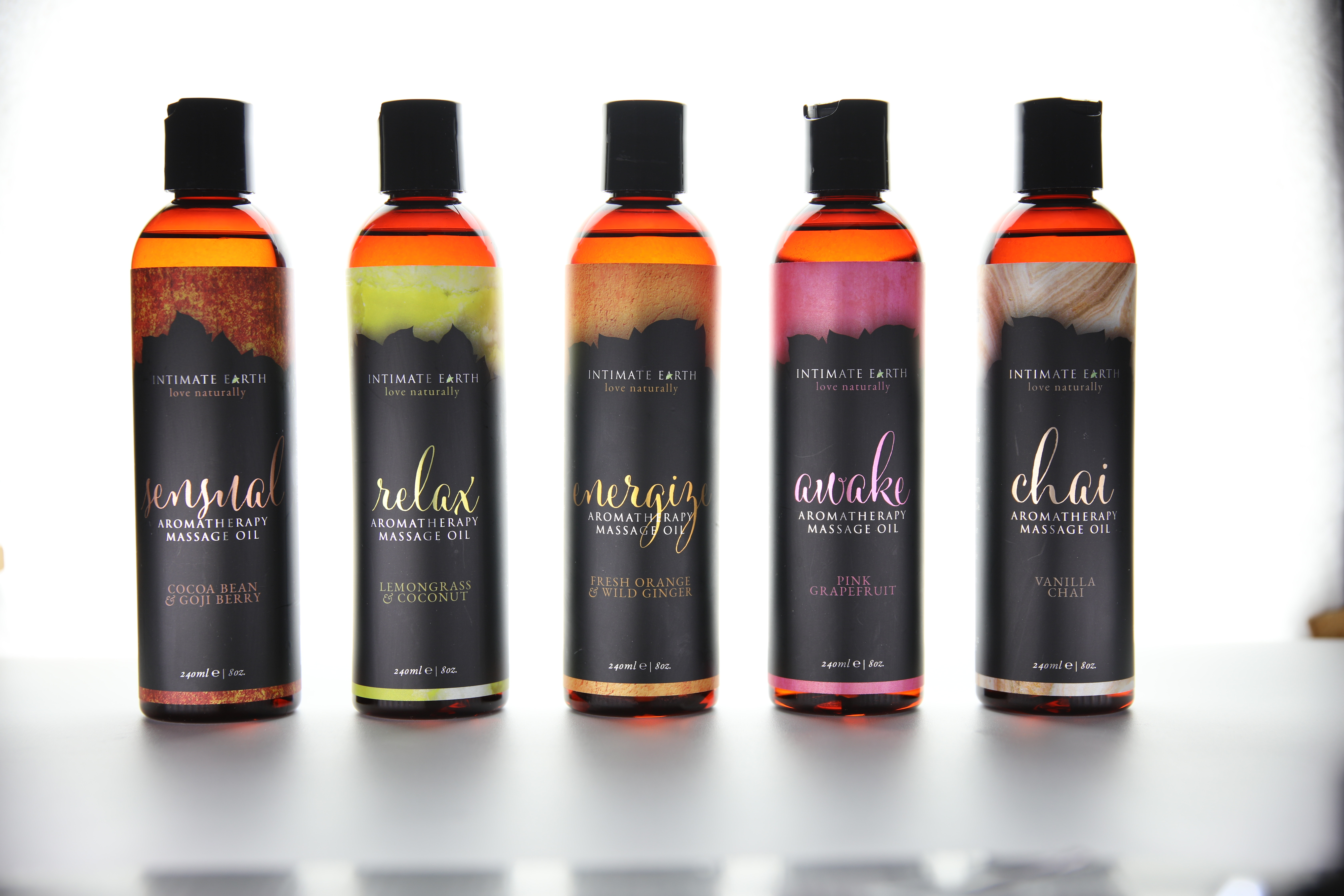 Intimate Earth Aromatherapy Massage Oils