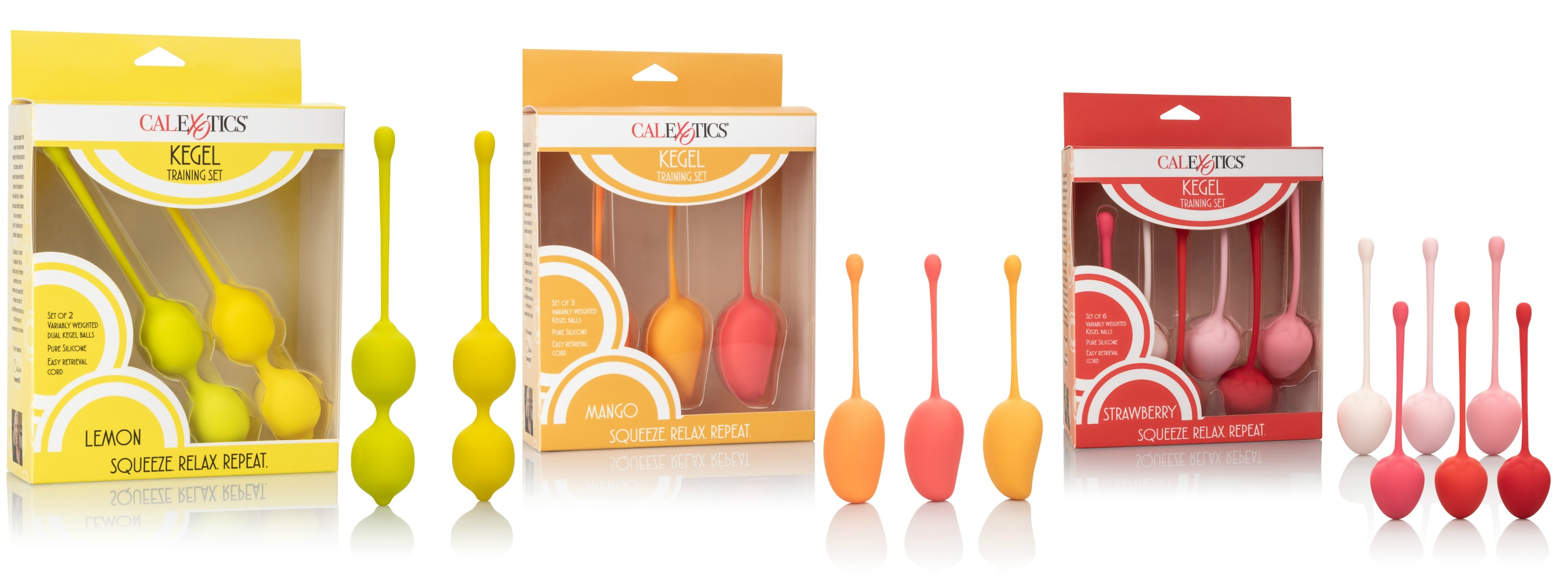 Kegel Training Sets by CalExotics