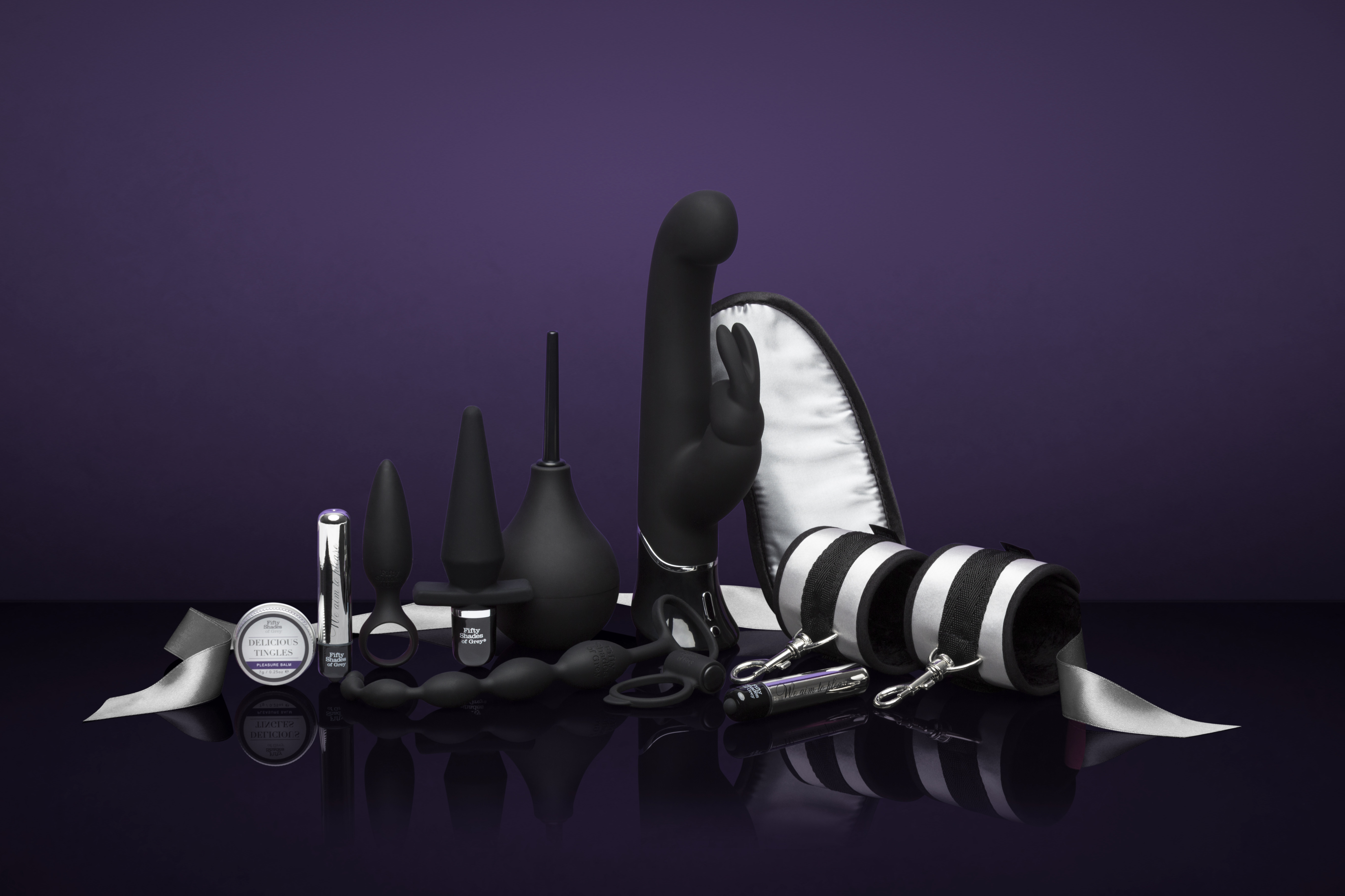 Fifty Shades of Grey collection images for TV stand Erofame